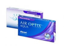 Air Optix Aqua Multifocal kontaktne leće (3 leće)