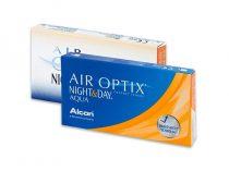 Air Optix Night & Day Aqua kontaktne leće (6 leća)