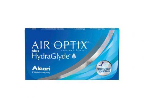 Air Optix Plus HydraGlyde kontaktne leće (3 leće)