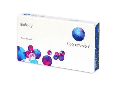 Biofinity kontaktne leće (3 leće)